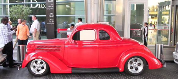 Ford Hot Rod замечен в Дубаи - видео