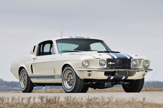 Фотографии Ford Mustang Shelby GT500 Super Snake 1967 года