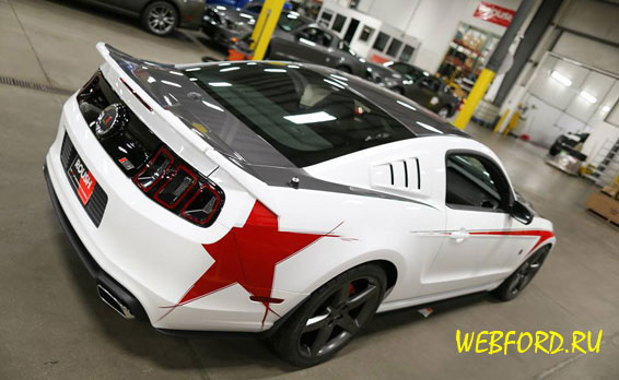 Roush представил новые фото Stage 3 Mustang 2014